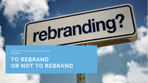 To Rebrand or Not To Rebrand