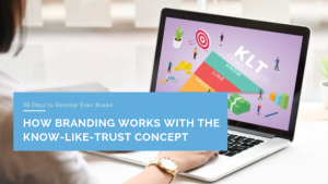 How Branding Works with the Know-Like-Trust Concept