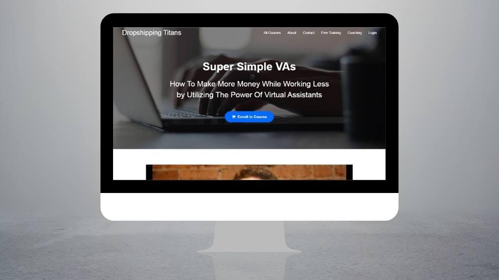 Hiring dropship assistant - Super Simple VAs