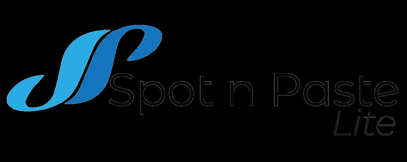 Spot N Paste Lite Logo