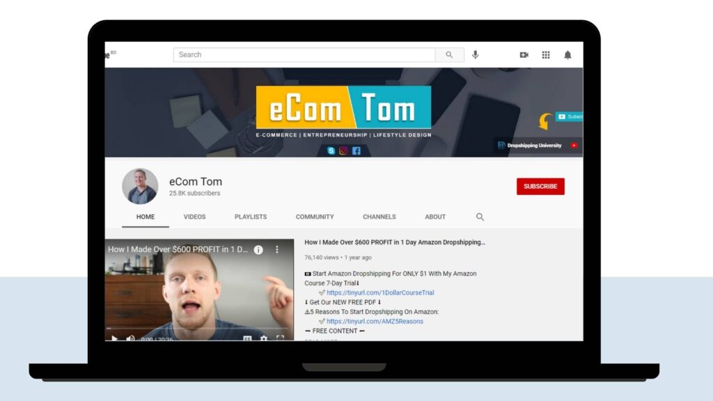 eCom Tom Channel