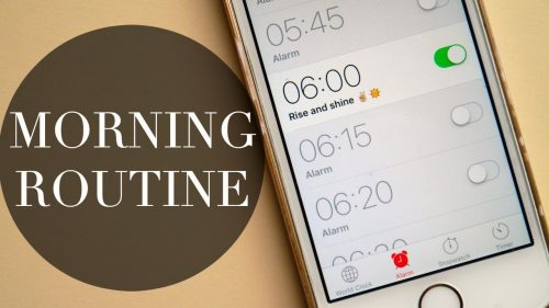 increase sales morning routine