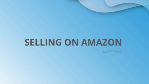 Amazon Selling
